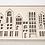 "Thumbnail: KOLEKTO 3D-Puzzle und Spielhaus ""Metropol wood"" aus Holz"