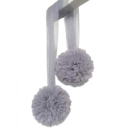 "SPINKIE Pompom ""grey"""