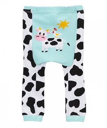 DOODLE Pants / Leggins Blue Cow
