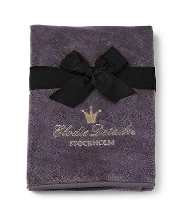 ELODIE DETAIL Pearl Velvet Blanket Plum Love