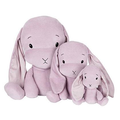 EFFIKI Bunny pink mit Ohren Dots (Grössen 20cm, 35cm, 50cm)