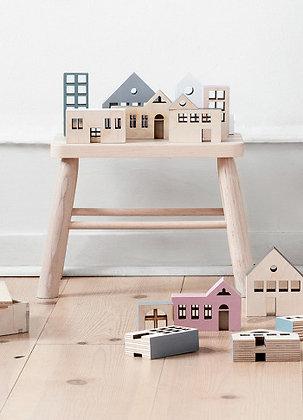 """KOLEKTO 3D-Puzzle und Spielhaus """"Kobenhavn"""" aus Holz"""