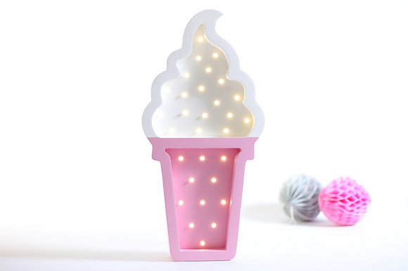 HAPPYMOON Nachtlampe LED Ice Cream