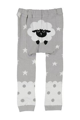 DOODLE Pants / Leggins Grey Sheep