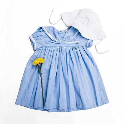 MINI VANIA ROMOFF Aerin Mädchenkleid hellblau