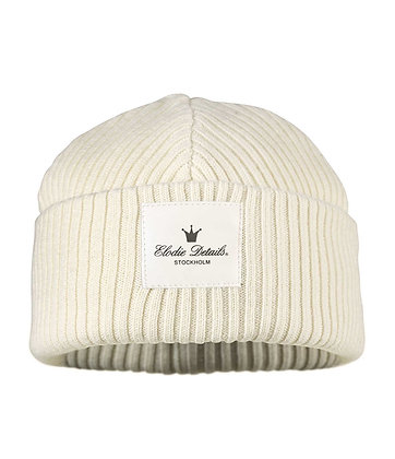 ELODIE DETAILS Mütze aus Merinowolle vanilla