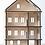 "Thumbnail: KOLEKTO Puppenhaus ""My House"" aus Holz"