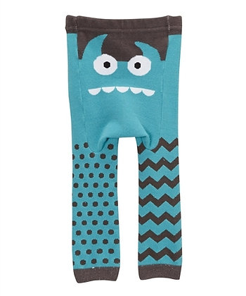DOODLE Pants / Leggins Blue Monster