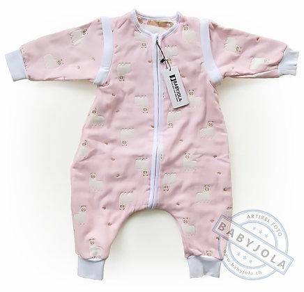 BABYJOLA Schlummi ganzjährig Alpakas rosa