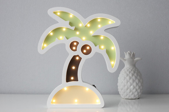 HAPPYMOON Nachtlampe LED Palme