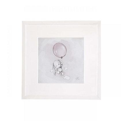 EFFIKI Bild Balloon grau 27 x 27 cm