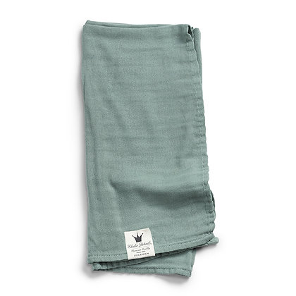 ELODIE DETAILS Bambus Swaddle mineral green