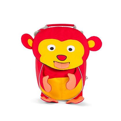 AFFENZAHN Rucksack 4 Liter (17x11x25) für 1-3 Jährige Albert Affe rot