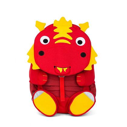 AFFENZAHN Rucksack 8 Liter (20x12x31) für 3-5 Jährige Daria Drache
