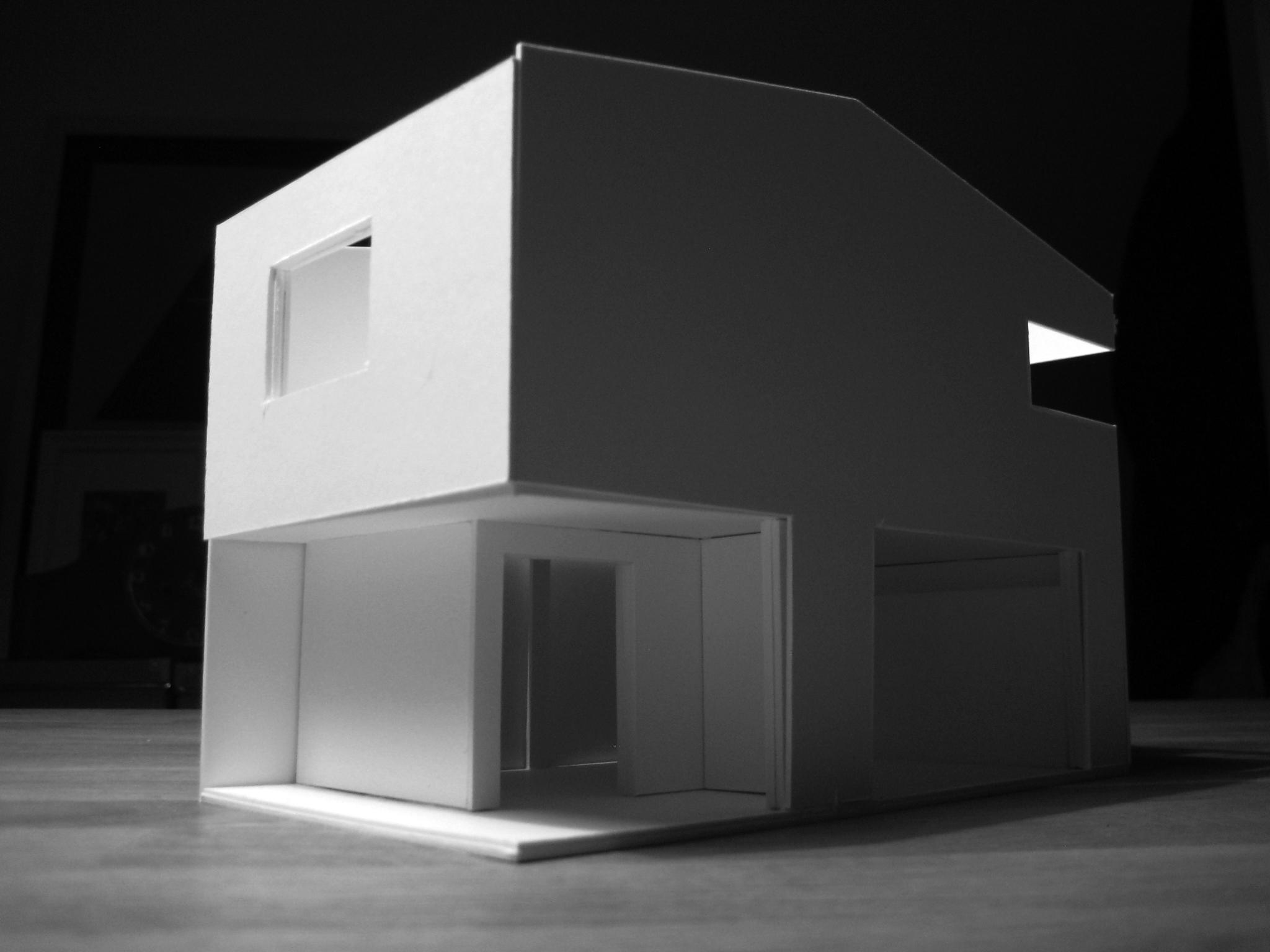 Modell - Gebäudeausschnitt EG
