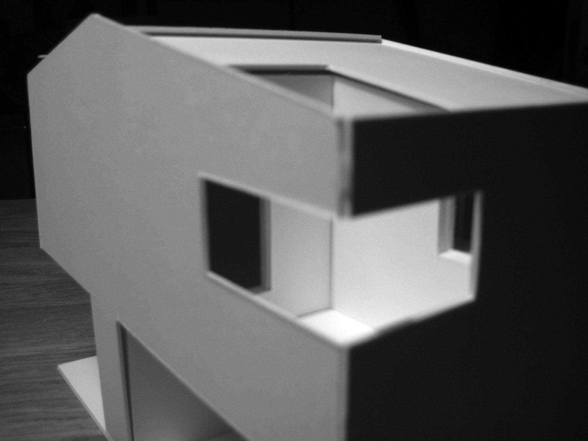 Modell - Gebäudeausschnitt OG