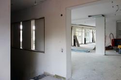 Baustelle Eingang OG