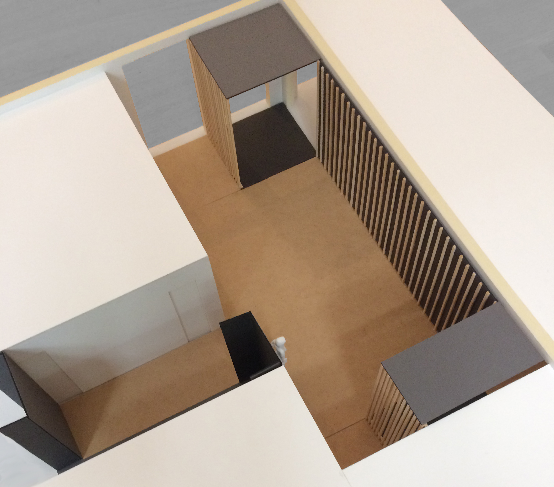 Modell Eingangsbereich