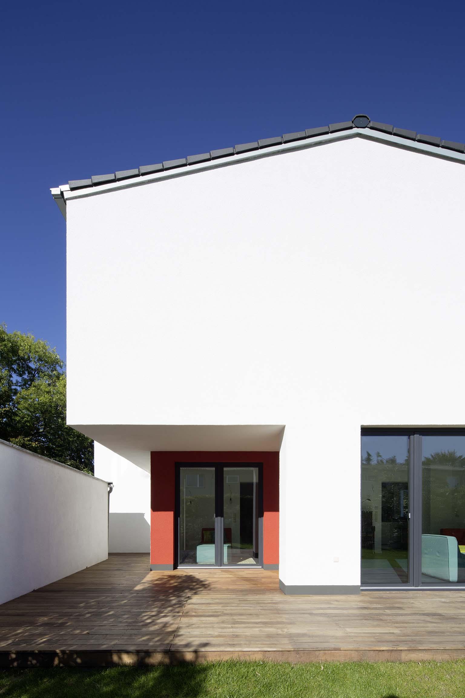 überdachter Terrassenbereich
