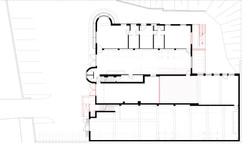 Erdgeschoss Neuplanung