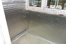 Герметичное утепление балкона с остеклением ПВХ в Красноярске