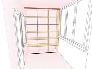 Шкафы и прочая мебель на балконы в Крсноярске
