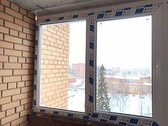 Зимнее остекление балкона окнами ПВХ в Красноярске