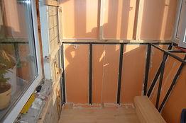 Утепление стен на балконе с выносом в Крсноярске