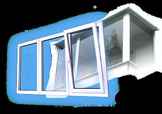 Остекление балконов и лоджий в Красноярске