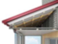 Установка крыши на балконы последних этажей в Красноярске