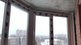 ПВХ профиль Проплекс для остекления балкона в Красноярске