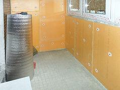 Утепление балкона с остеклением ПВХ в Красноярске