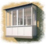 Холодное и тёплое остекление балконов и лоджий в Краснярске. Установка крыш на балконах