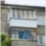 Монтаж крыши на балконе с остеклением ПВХ в Краснярске