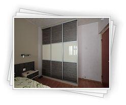 Встроенный шкаф-купе 3 двери на заказ в Красноярске