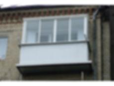Остекление балконов раздвижнымиалюминиевыми окнами в Красноярске
