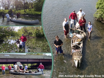 The 25th Annual DuPage River Sweep