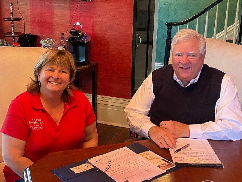Karen Engleman with Larry Ricke 2020.jpg