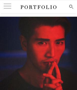 Portfolio Magazine artist feature