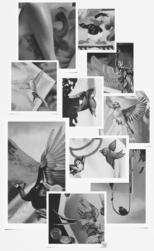 The Ornithophobic Artist