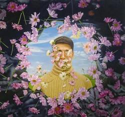 Aiman Hakim Artist Singapore Utarit koons Oil Painting