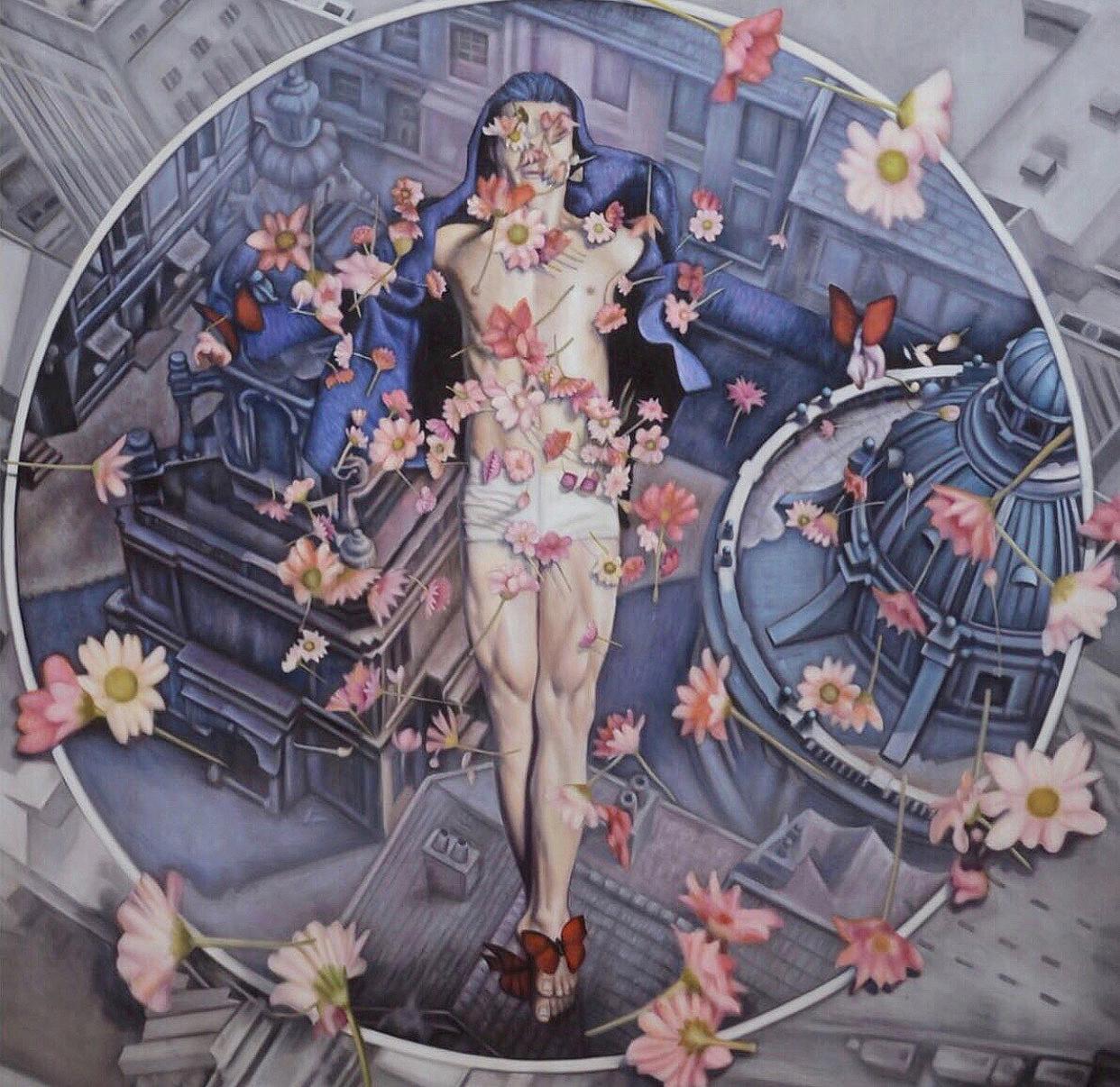 Aiman Hakim Artist Singapore Utarit koons Oil Painting asian jesus