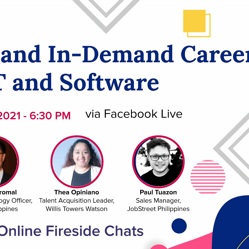 Online Fireside Chat: Hot and In-Demand Careers in IT and Software