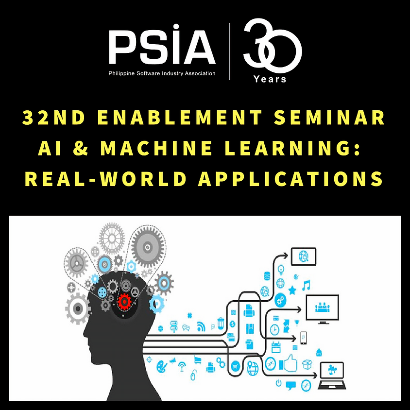 32nd ES - AI & Machine Learning: Real-World Applications