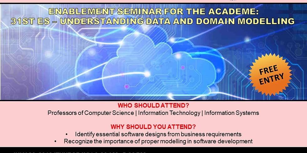 31st Enablement Seminar – Understanding Data & Domain Modelling