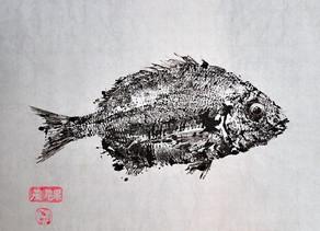 Gyotaku, Teknik Tradisional Menggambar Ikan Dari Jepang