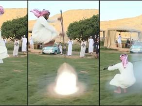 Taasheer, Tarian Tradisional Arab Saudi Yang Menggunakan Senapan Api
