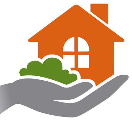 PPM Logo Hand Holding a House