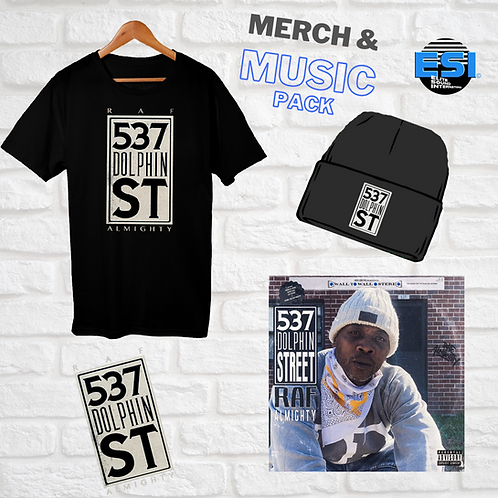 537 Dolphin Street Merch & Music Pack *VINYL*