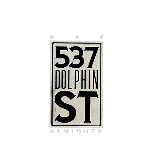 537 Dolphin Street Embroidered Patch